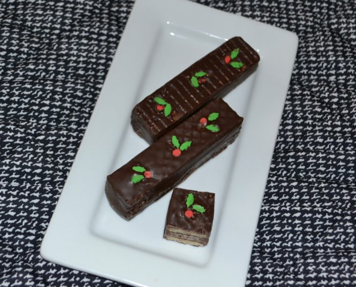 Chocolate Wafer Cookies-lizbushong.com