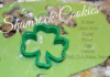 Shamrock Butter Cookies
